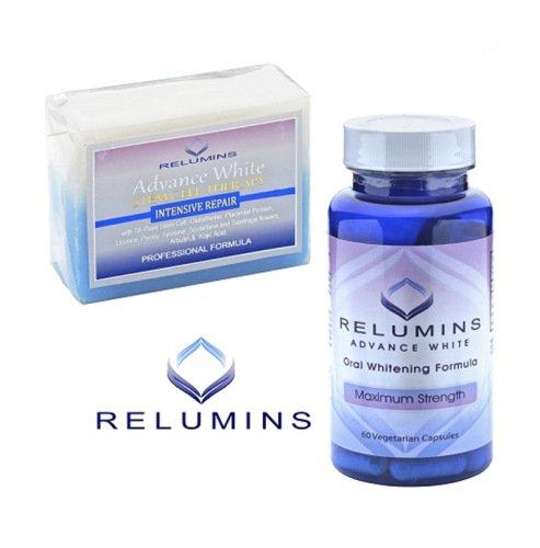 Relumins Intensive Repair Whitening Soap + Relumins Oral ...