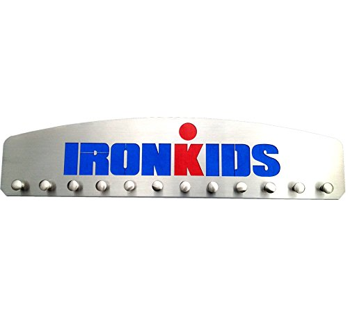 IRONKIDS – 12 Peg Medal Hanger Display by Blue Diamond Athletic Displays