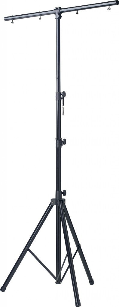 Stagg LIS-A2022BK One Tier Light Stand - Black