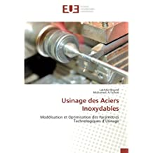 USINAGE DES ACIERS INOXYDABLES