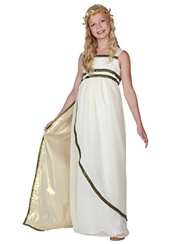 Child Goddess Costume Large (Roman Girl Costume)