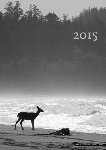 Kalender 2015 - Reh am Meer: DIN A5, 1 Woche auf 2 Seiten, Platz für Adressen und Notizen (German Edition)