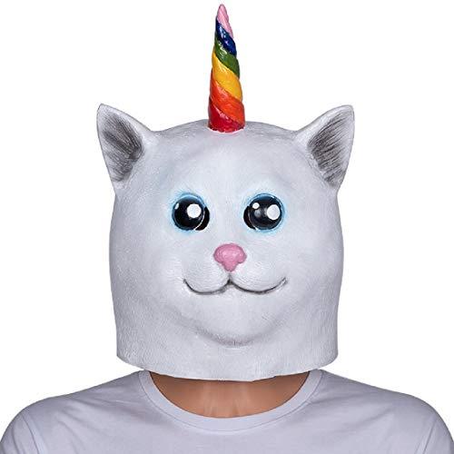 Unicorn Cat Mask,One Size