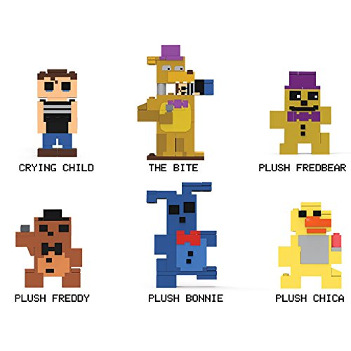 [Five Nights at Freddys 8-bit Buildable Figures Set of 6 - Series 2] (Series 5 Figure Set)