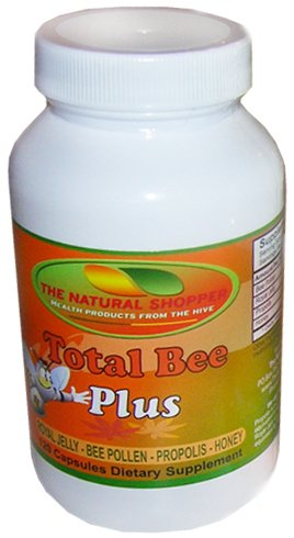 USA Royal Jelly in Total Bee Plus, includes bee pollen, propolis and honey