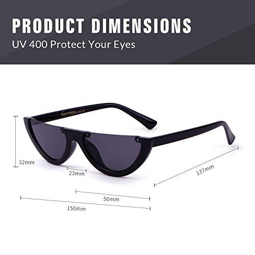 5186a9703e Clout Goggles Cat Eye Sunglasses Vintage Mod Style Retro Kurt - Import It  All
