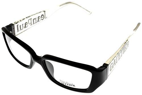 Jean Paul Gaultier Eyeglasses VJP510S 0700 Shiny Black - Fendi Jeans Men