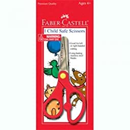 Faber-Castell Children\'s Safety Scissors