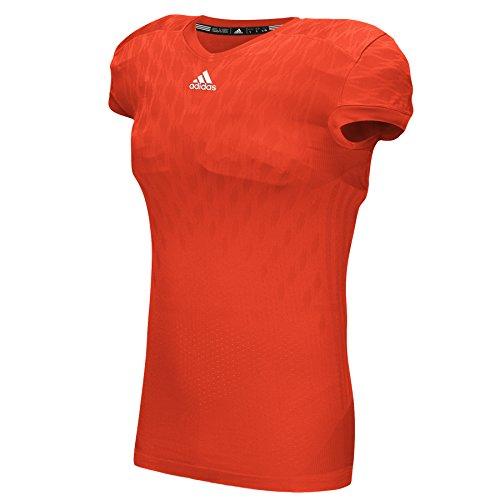 Maglia Da College Adidas Uomo Techfit Primeknit Collegiale Arancione