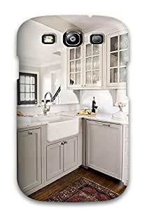 Faddish Phone Traditional L-shaped Kitchen With Farmhouse Sink Case For Galaxy S3 / Perfect Case Cover