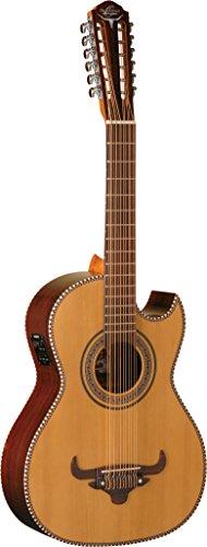 Oscar Schmidt OH52SE-O-U 12-String Bajo Sexto Acoustic-Electric Guitar