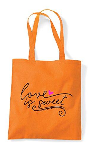 Tote Is Shopper Sweet Bag Statement Orange Love SPx4ZH4