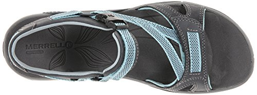 Merrell Azura Strap - Sandalias deportivas para mujer Grau (Grey)