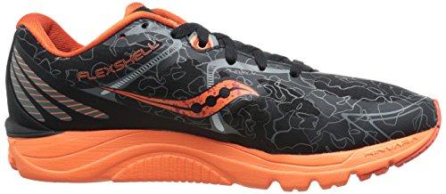 Saucony Men's Kinvara 6 Runshield Footwear Black/orange dmpjE6h2