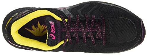 Asics Gel-Fujiattack 5 G-tx, Zapatillas de Gimnasia para Mujer Viola (Eggplant/Sport Pink/Lemon)