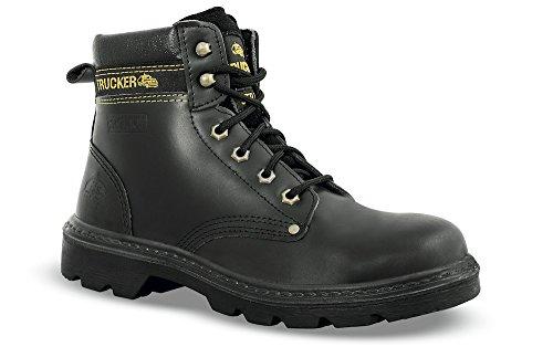 Chaussures de sécurité UK cuir noir - 82003