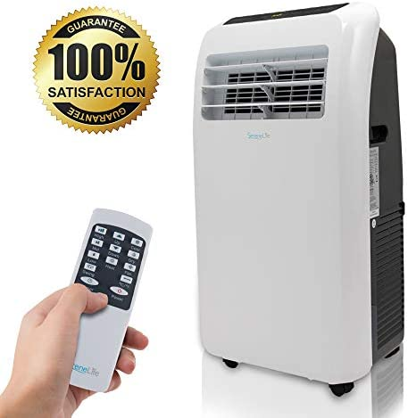 SereneLife Portable Conditioner Dehumidifier Complete product image