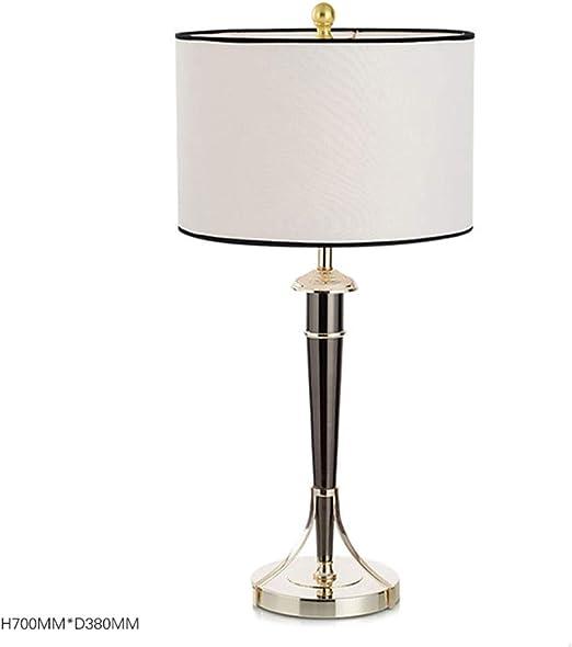 Q-LIGHT Lámpara de Mesa de Metal Lámpara de cabecera Personalizada ...