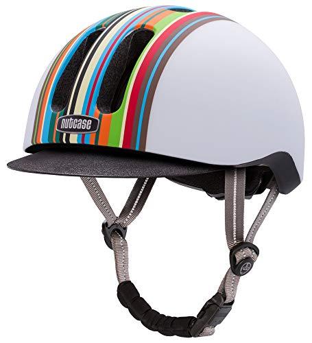 Nutcase - Metroride Bike Helmet for Adults, Technicolor Matte, Large/X-Large