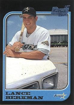 1997 Bowman Baseball #438 Lance Berkman Rookie Card