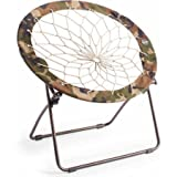 32 flexible and steel frame Gaming Camping Folding Chair in camouflage