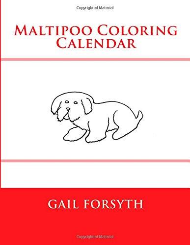 Maltipoo Coloring Calendar ebook