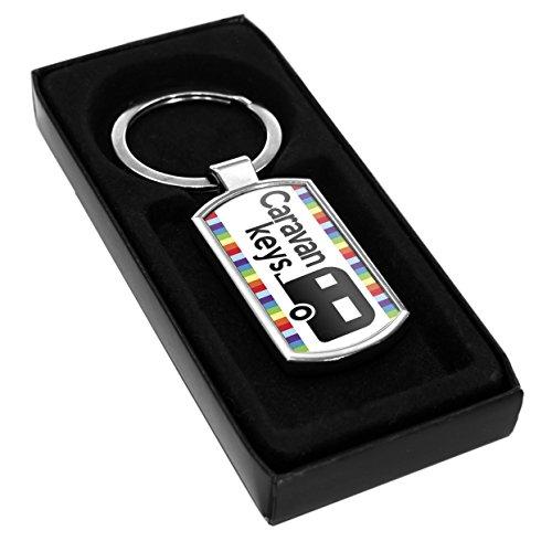 Caravan Keys Keyring Gift Idea Club Dad Mum Holiday Travel Present Fob 5