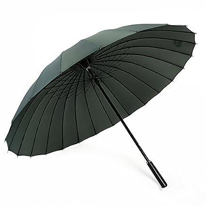 e30828a9c206 Amazon.com : WYMBS Men and women umbrella long handle creative ...