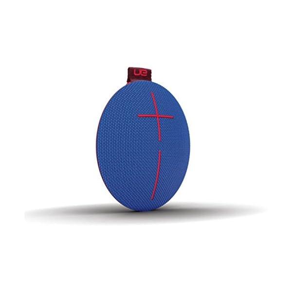 Ultimate EarsROLL2 Enceinte Bluetooth Ultraportable avec Flotteur, Waterproof et Antichoc - Bleu/Rouge 3