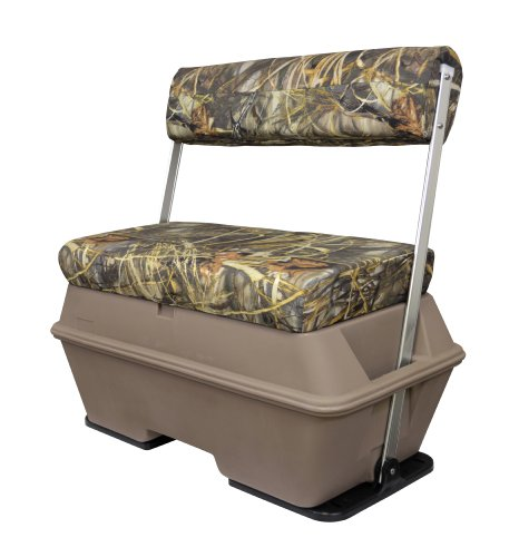 Wise Swing Back Seat with 70-Quart Cooler, Advantage Max 4 Camo (Boat Seat Covers Bench)