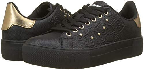 Basse Shoes Ginnastica 2000 Da Desigual Nero negro Winter Donna Valkiria Scarpe star 0YTqZd