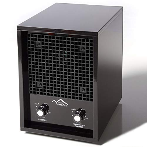 New Comfort Black Commercial Qualtiy Ozone Generator and Ioniser for Odor Removal and Air Purification