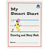 Teacher Created Resources Smart Start Drawing and Story Book 1-2 Journal