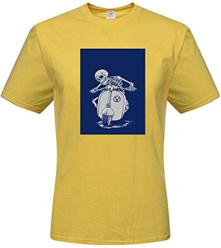 Custom cotton tee - DIY Funny wallpaper Skull t-shirts