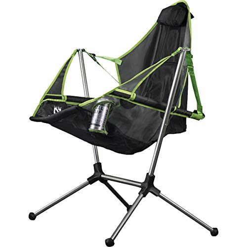 Nemo Stargaze Recliner Luxury Camp Chair, Birch Leaf/Smoke