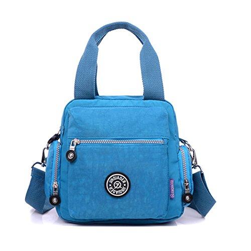 correa hombre Azul Chou y Azul Tony Ocean asa de con impermeable extraíble Blue Bolso superior q1pz00