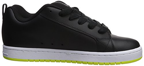 Homme Court Dc Nubuck lime Black Sport Graffik Shoes Chaussures Paire En De D0300529 Shoe Pour wESgqvxE
