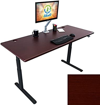 Pleasing Amazon Com Lander Electric Adjustable Height Sit Stand Desk Download Free Architecture Designs Crovemadebymaigaardcom