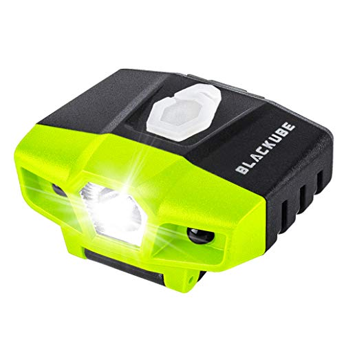 (USB Rechargeable Cap Hat Light Ball Cap Visor Light A Pack or 2 Packages - Clip Headlamp Hands Free Rotatable Cree LED Portable Clip on Cap Light for Reading Hunting Fishing Running )