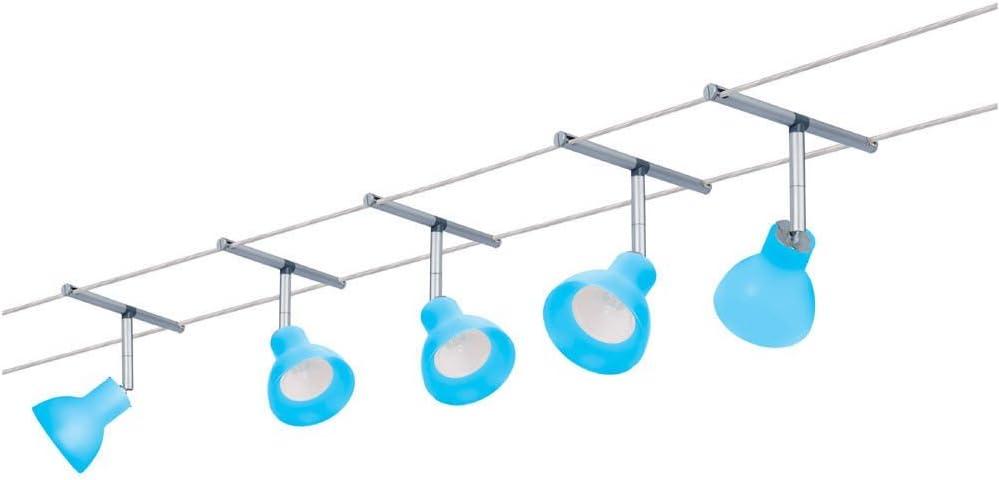 Light Blue 230 3 Chr M 974.41 Paulmann Wire System Spice Chili 200 5x35w GU5