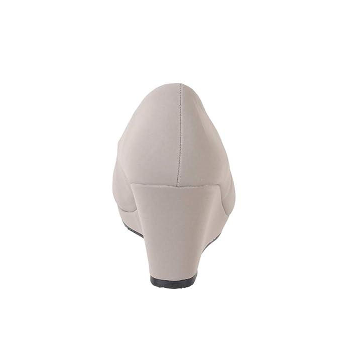 Elara Damen Pumps Keilabsatz Wedges Schuhe mit Plateau  Chunkyrayan   Amazon.de  Schuhe   Handtaschen cc34759597