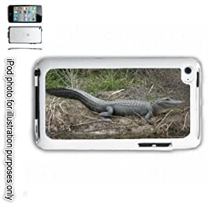 Alligator Gator Photo #2 iPOD 4 Touch Hard Case Cover Shell White 4th Generation White