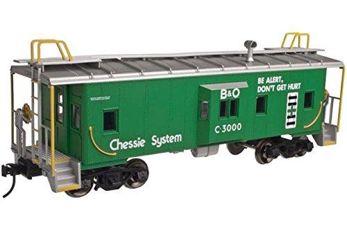 Atlas O Scale Trainman Bay Window Caboose Chessie System/B&O Safety (3-Rail)