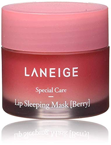 LANEIGE Lip Sleeping Mask ,Berry, Lip Treatment, 0.7 Qunce ()