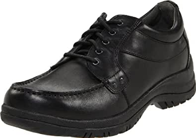 Dansko Men's Wyatt  Black Full Grain Oxford 41 (US Men's 7.5-8) Regular