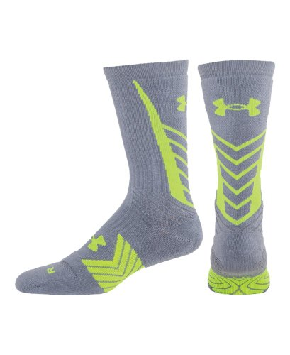 Under Armour Mens Undeniable All Sport Crew Socks 1 Pair