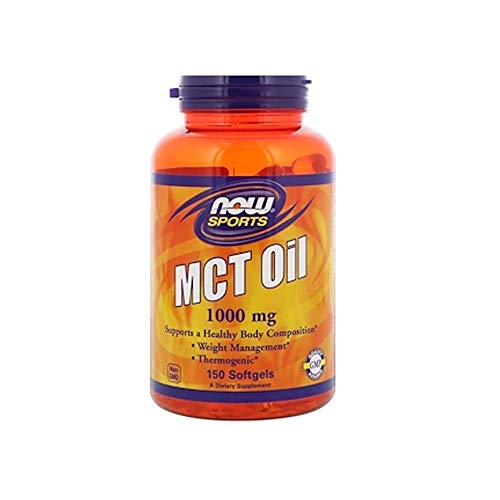 (Now Sports Nutrition, MCT (Medium-Chain triglycerides) Oil 1000 mg, 150 Softgels)