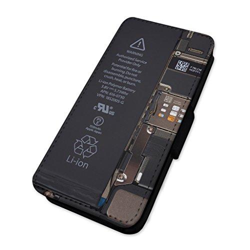 Phone componenti–smontato scherzo–Flip cover in pelle cover Apple Iphone 8