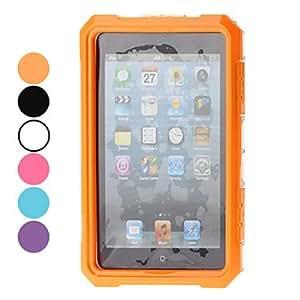HOR IPEGA Waterproof Case Silicona Flexible Full Body para mini iPad (colores surtidos) , Púrpula