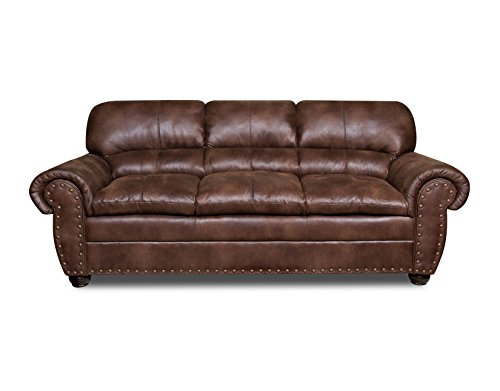 Simmons Upholstery Padre Sofa, Expresso